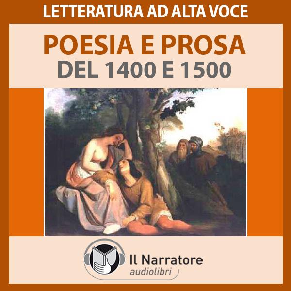 Poesia e prosa del 1400 e 1500-0