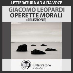 Operette morali (selezione)