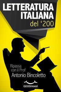 Letteratura italiana del '200.