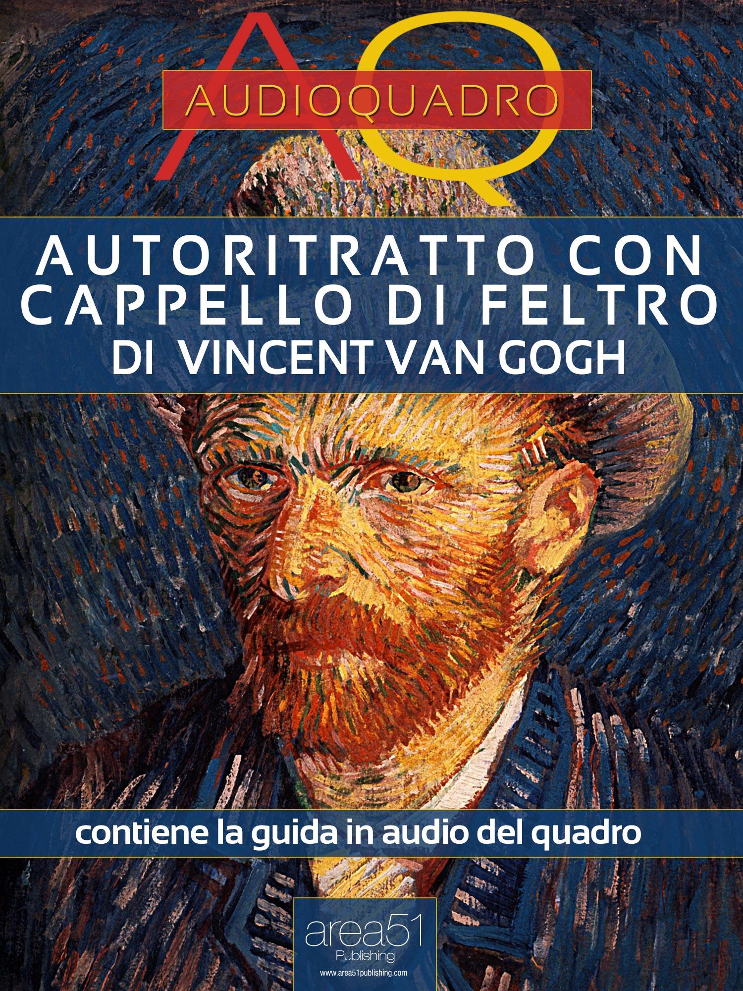 Autoritratto con cappello di feltro di Vincent Van Gogh-0