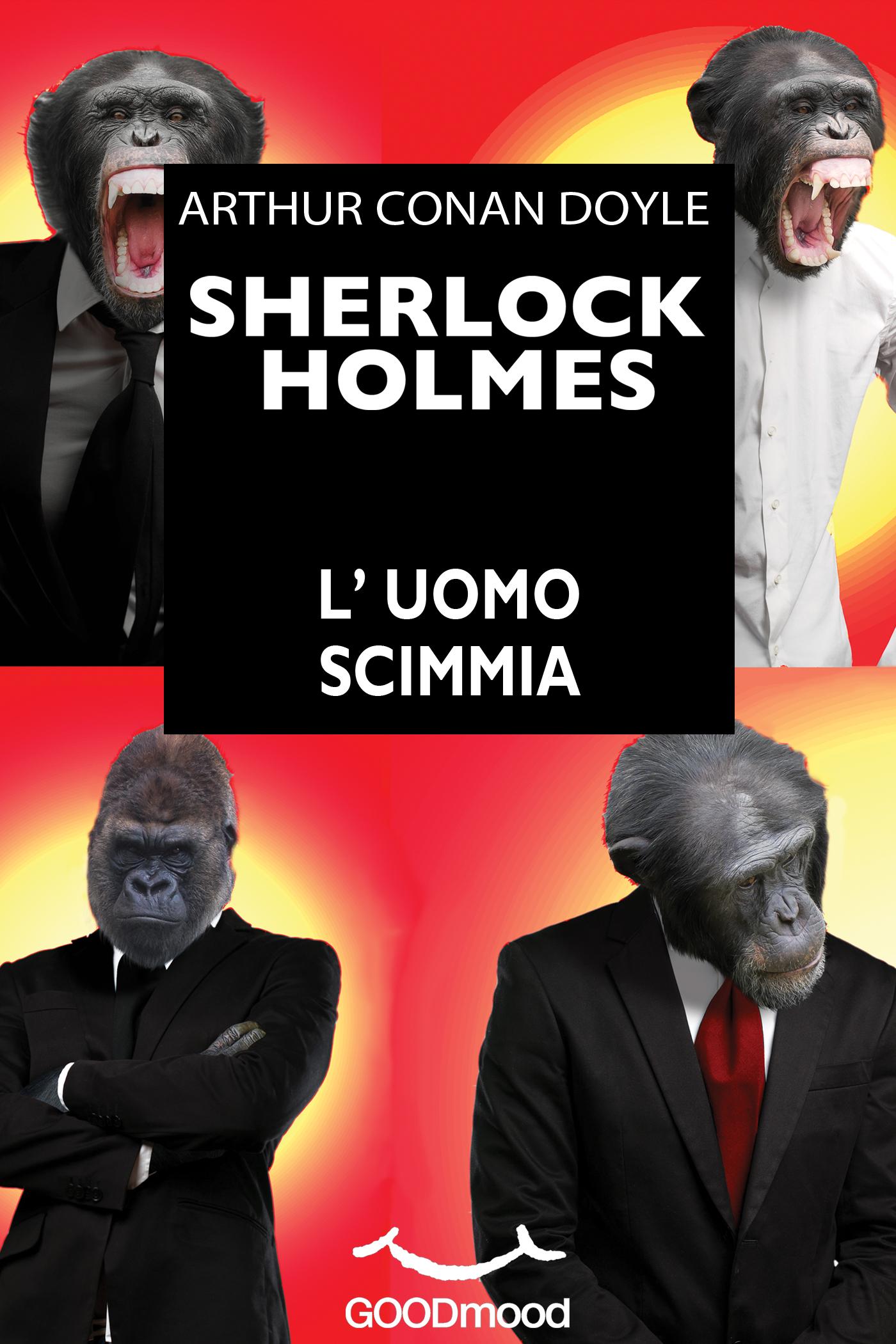 Sherlock Holmes - L'uomo scimmia-0