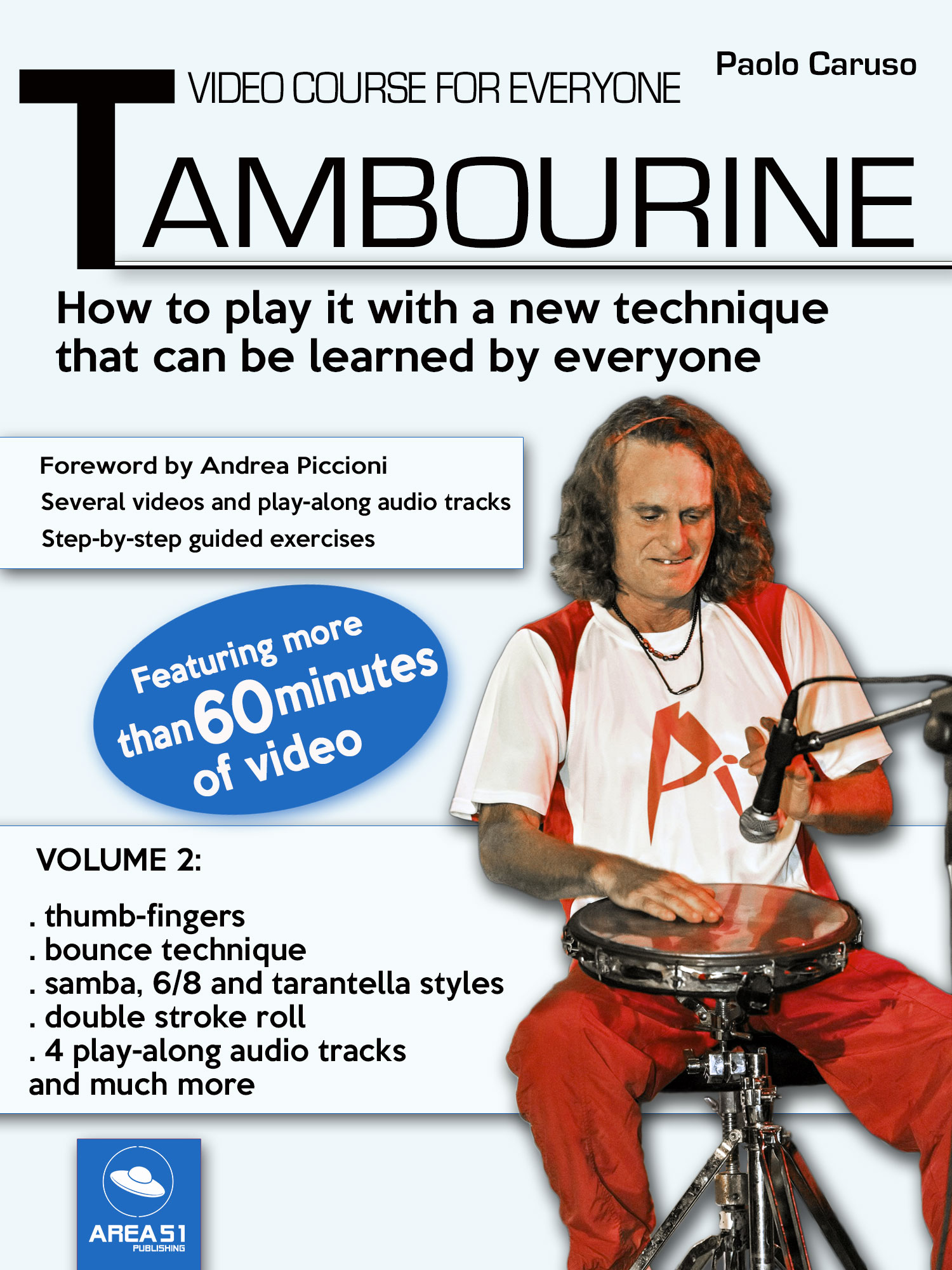 Tambourine. Video course for everyone - Volume 2-0